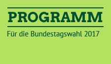 Programmentwurf Bundestagswahl 2017