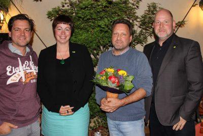 GRÜNER Vorstand gratuliert Lutz Wagner